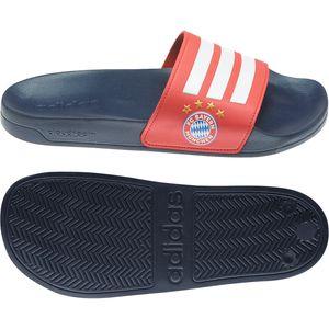 adidas Uni Adilette SHOWER Badeschuhe Badelatsche FC Bayern München , Größe:UK 10 - EUR 44 2/3