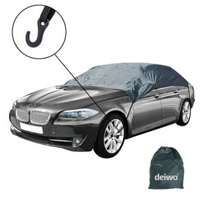 Halbgarage Autoschutzhülle Größe XL Oberklasse Winter geeignet 390x156x60 cm