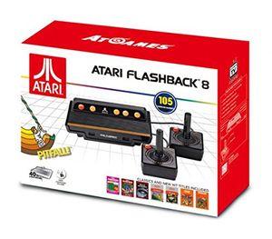 Atari Flashback 8 Retro Spielekonsole 105 Spiele + 2 Joysticks