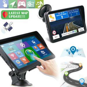 """KFZ Navi GPS Autoradio Lkw Auto Navigationsgerät 7"""" Zoll Reise 8GB+256MB 2D 3D EU Karte USB-Receiver, MP3-Wiedergabe"""