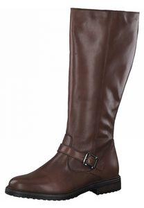 Tamaris Damen Elegante Stiefel 1-25626-27 Braun 455 Cuoio Leder mit TOUCH-IT, Groesse:36 EU