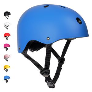 arteesol Kinderhelm Fahrradhelm Skatehelm Schutzhelm Verstellbar Mountainbike Helm 48-54cm Blau