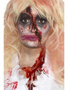 Kostüm Zubehör Zombie Krankenschwester Make Up Hut Blut Halloween