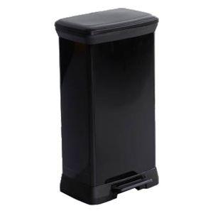 Curver DECO Bin METALLICS, schwarz / schwarz metallic, vers. Größen Größe: 50 l