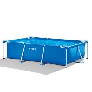 Intex Frame Pool Family 220 x 150 x 60 cm Stahlrahmen Pool