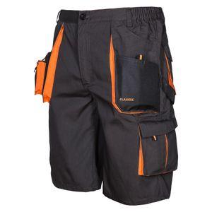Arbeitskleidung ART.MaSter Classic schwarz/orange Shorts 54