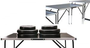 Tapeziertisch & Arbeitstisch 'MASTER', Stahl - 3-teilig - höhenverstellbar