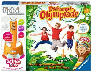 Ravensburger active Set Dschungel-Olympiade 00849