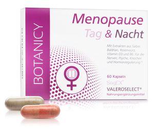 MENOPAUSE Tag & Nacht, für die Wechseljahre, natürlich und hormonfrei, gegen Symptome der Menopause