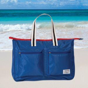 Fabrizio strandtasche 34 Liter blau