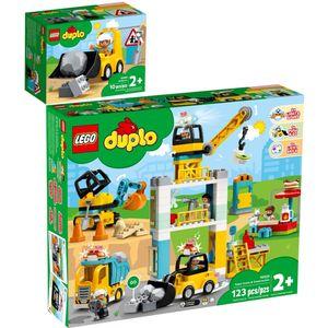 LEGO? 10930 10933 DUPLO? 2er Set Radlader + Gro?e