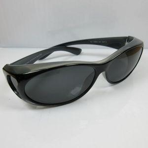 Überbrille schwarz Sonnenbrille für Brillenträger UV400CAT3 für DAMEN & HERREN