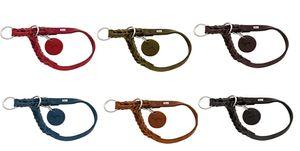 Hunter Halsband Solid Education versch. Farben und Größen, Größe:L, Farbe:blau