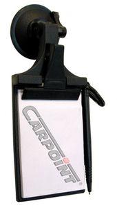 Carpoint auto-Notizblock mit Saugnapf 9 x 13 cm schwarz
