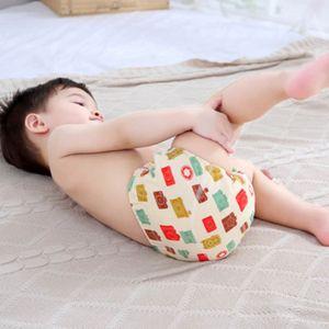 4er Set Wasserdicht Baby Lernwindel Trainerhosen Unterwäsche Windeln Windelhose zum Toilettentraining Töpfchentraining für 6-12KG Babys