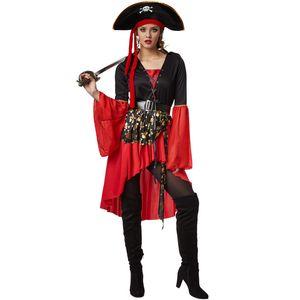 dressforfun Frauenkostüm Piratenkönigin - L