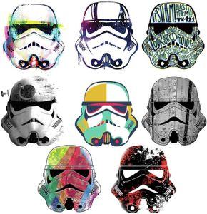 RoomMates wandaufkleber Star Wars SuperTrooper Vinyl 8 Stück