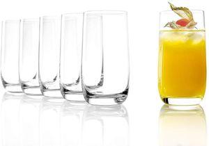 Stölzle Lausitz Saftgläser, Wassergläser der Serie Weinland 315ml 6er Set spülmaschinenfest bleifreies Kristallglas hochwertige Qualität