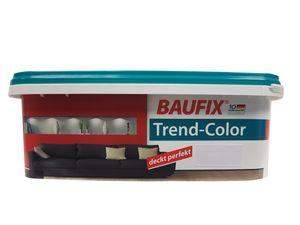 Baufix Wandfarbe Trend-Color farbton wählbar, seidenmatt 2,5 Liter , Farbe:karminrot