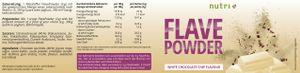 Flave Powder - White Chocolate