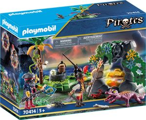 Playmobil, Piraten-Schatzversteck, Pirates, 70414
