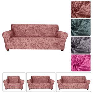 1 Stück Sofabezug Stretch Sofa Schonbezug Möbelbezug 3-Sitzer für Wohnzimmer, formschlüssig Rutschhemmung Maschinenwaschbar Lounge Ziegelrot