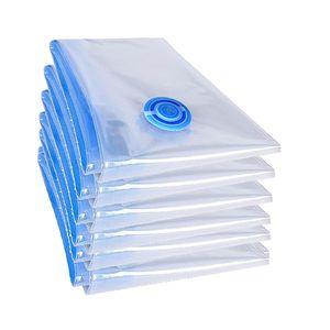 6 Stück teprovo XXL Vakuumbeutel Bettdecken Vakuum Set Kleiderbeutel 100x70cm groß Aufbewahrung e Qualität