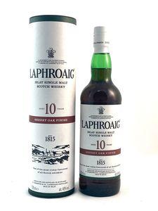 Laphroaig 10 Jahre Sherry Oak Finish  Single Malt Whisky 0,7l, alc. 48 Vol.-%