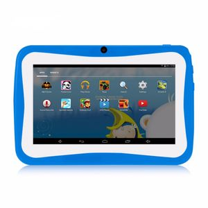7 Zoll Kinder Tablet Android 4.4 Tablet PC  512 MB + 8 GB ROM 1024 * 600 Tablets WiFi Tablet für Kinder,blau