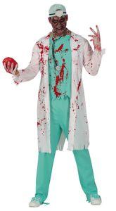 Fiestas Guirca arztkostüm zombie männer polyester weiss mt 52/54