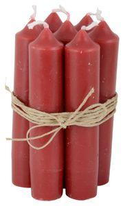 IB Laursen Stabkerze Kerzen ROT red Leuchter Spitz Tafel H=11cm Satz Weihnachten