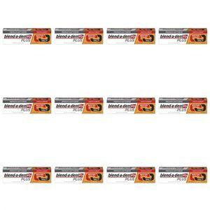 12 x Blend-a-dent Premium Haftcreme Duo Kraft 40g