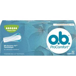 O.B. Tampons Pro Comfort Super Plus 32 Stück