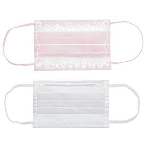 100 Stk Einwegmasken für Kinder Kindergesichtsmaske Einweg-2-lagige Mundmaske Zufällig