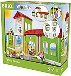 Brio 33941 Village Familienhaus für Holzeisenbahn