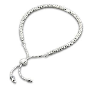 SilberDream Armband 24cm 925 ECHT Silber Himbeerkette Damen Armschmuck SDA7003J