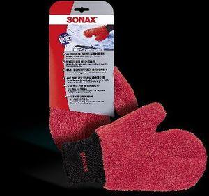SONAX Autowasch-Handschuh für VW GOLF IV 1J1 für AUDI A4 Avant 8K5 B8
