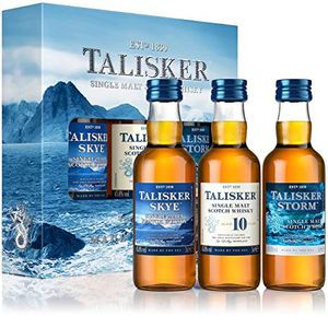 Talisker 3er-Mini-Collection Skye Single Malt Scotch Whisky 3x0,05l, alc. 45,8 Vol.-%