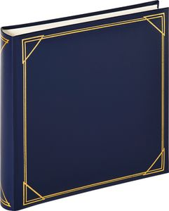 Walther Standard blau      30x30 100 Seiten weiß Fotoalbum MX200L