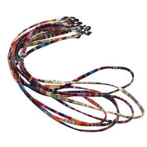 5 Stück / Pack Multi Farbe Sonnenbrille Strap Brillengläser Halter Halter Halskette