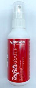 proWin Teufelskralle 75 ml, wärmeaktivierendes Pflegespray + DiWa Waschhandschuh
