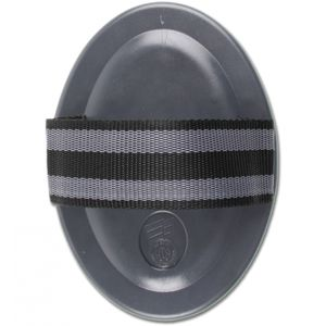 WALDHAUSEN Gummi-Striegel Premium, schwarz, schwarz