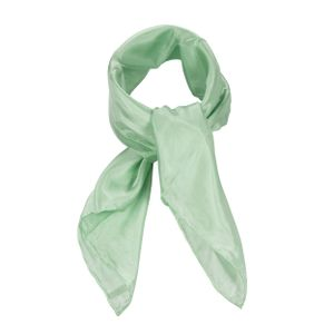 Nickituch 55x55 cm grün mint helltürkis uni einfarbig Seide Seidentuch pastell