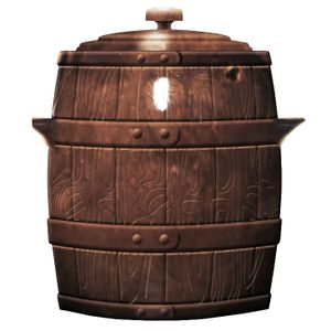 GÄRTOPF Keramik Sauerkrauttopf Gurkentopf Rumtopf mit Deckel RETRO BRAUN 5 l