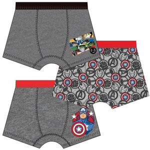 Marvel Avengers Kinder Unterhose Boxershorts 3er Pack - Gr. 122/128