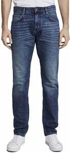 TOM TAILOR JOSH Regular Slim Herren Jeans in 3 verschiedenen Farben, Inch Größen:W38/L34, Tom Tailor Farben:Used Mid Stone Blue 10119