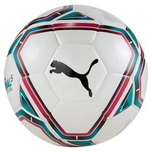 PUMA teamFINAL 21 Lite Fußball 350g puma white/rose red/ocean depths/puma black 5