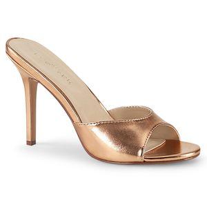 Pleaser CLASSIQUE-01 Sandaletten rosa, Größe:EU-35 / US-5 / UK-2