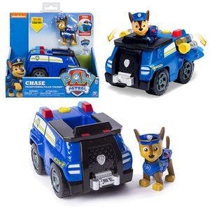 Auswahl Fahrzeuge | Mit beweglichen Spielfiguren | Paw Patrol, Figur:Chase Transforming