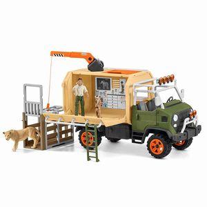 Großer Truck Tierrettung